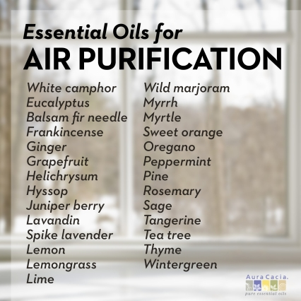 27 Essential Oils to Purify Air Naturally