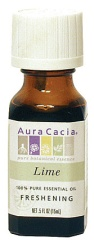 Aura Cacia lime essential oil