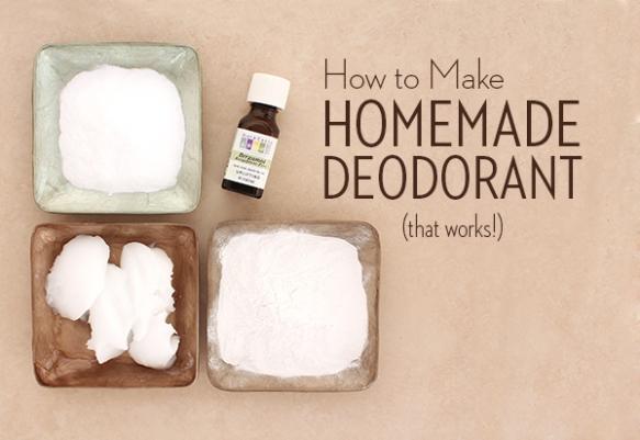 homemade deodorant