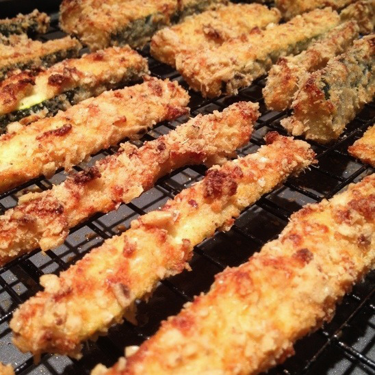 zucchini bread is an abomination (and how to make baked zucchini fries ...