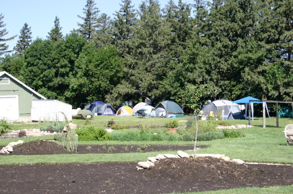 HerbFest camping