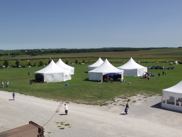 HerbFest tents