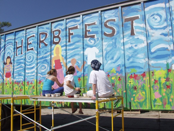 Herbfest truck