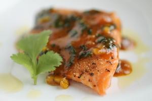 Orange-curried-cilantro-salmon