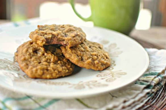 Case in point: Pumpkin Oatmeal Chocolate Chip Cookies. Photo and recipe courtesy of Simply Scratch.