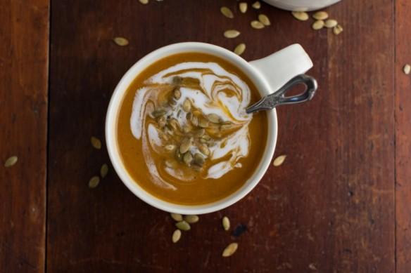 vegan butternut squash soup