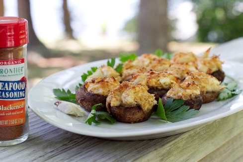 crab stuffed mushrooms recipe