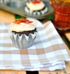 Chocolate, Beer and Bacon Cupcakes