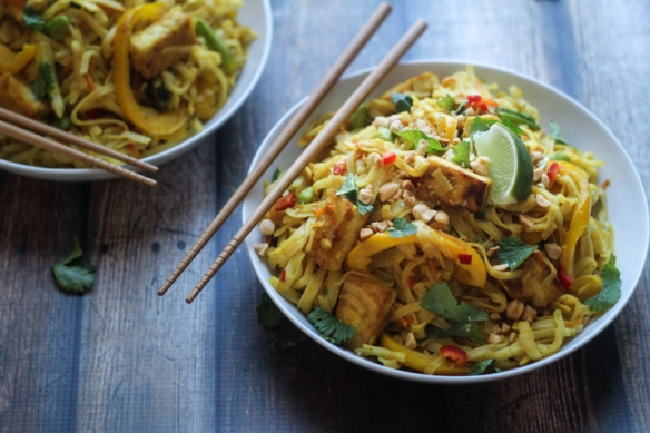 Tofu-Curry-Noodles-with-Vegetables-8