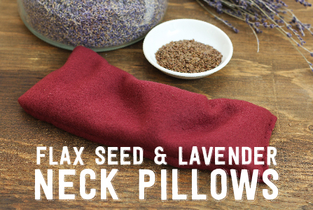 FR WEB Flax Seed Lavender Pillow Artice Header