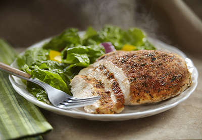 Simply Organic Garlic Herb Chicken Steam Gourmet