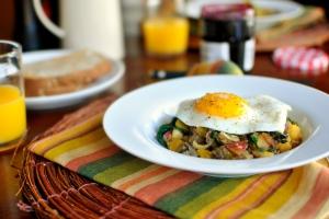 Simply Organic butternut squash hash recipe