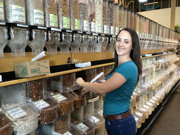 Maia Pugh at New Pioneer Food Co-op