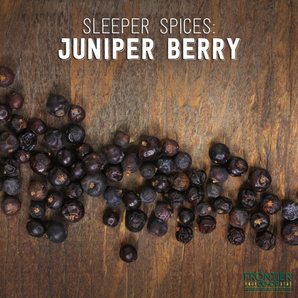 Frontier juniper berries