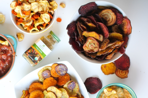 Simply Organic root vegetable chips